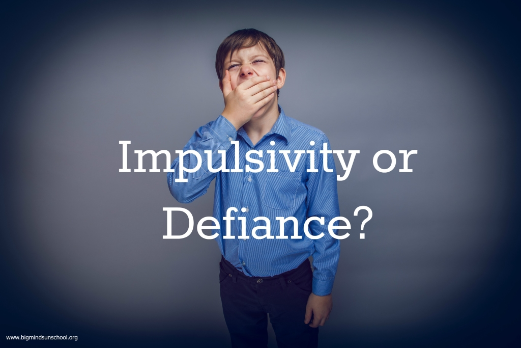 Impulsivity or Defiance